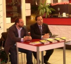 Giusto Catania (a sinistra) e Salvatore Giordano (a destra). Foto su mediterraneoforpeace.it