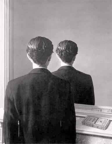 Medico chirurgo no - Magritte uomo allo specchio ...